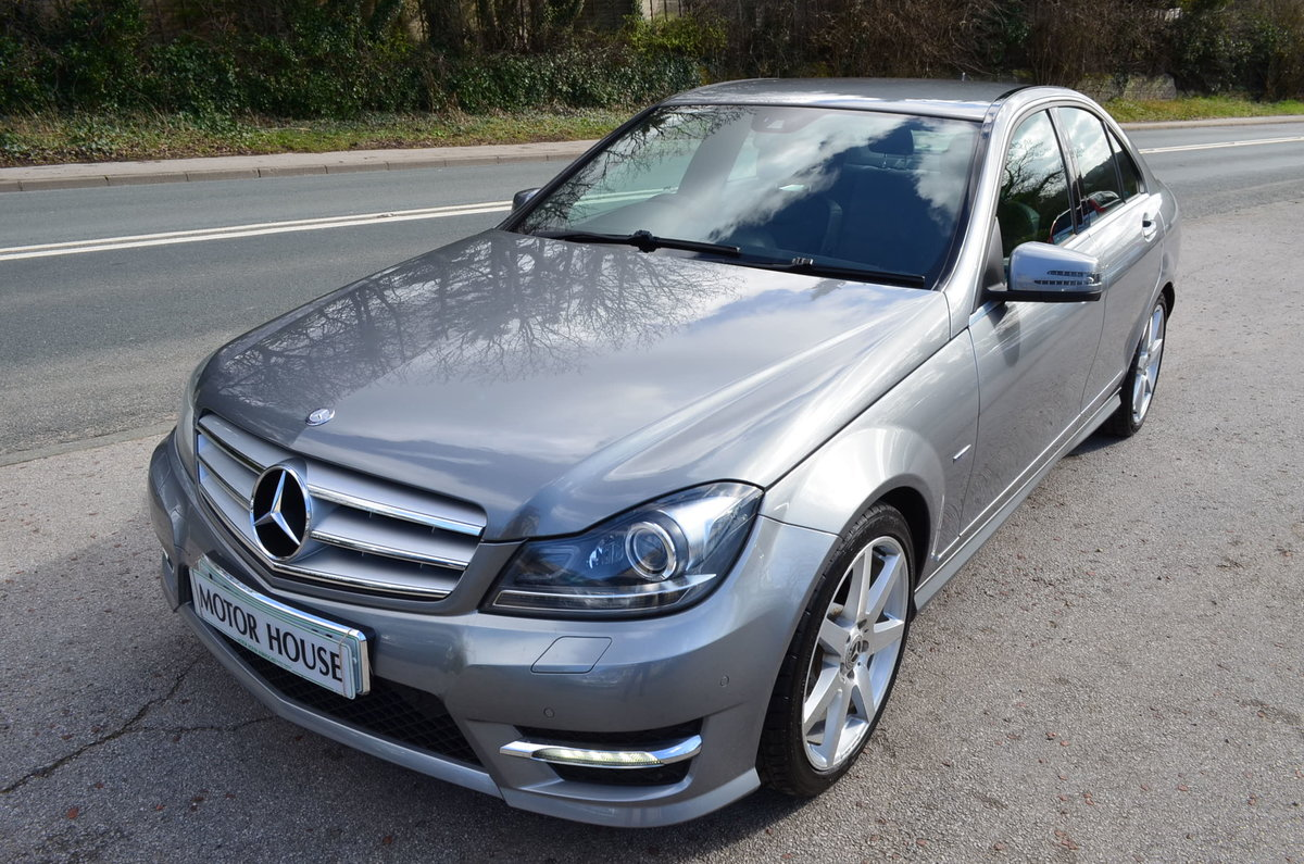 2012 MERCEDES C250 CDI AMG SPORT BLUE EFFICIENCY For Sale (picture 1 of 6)
