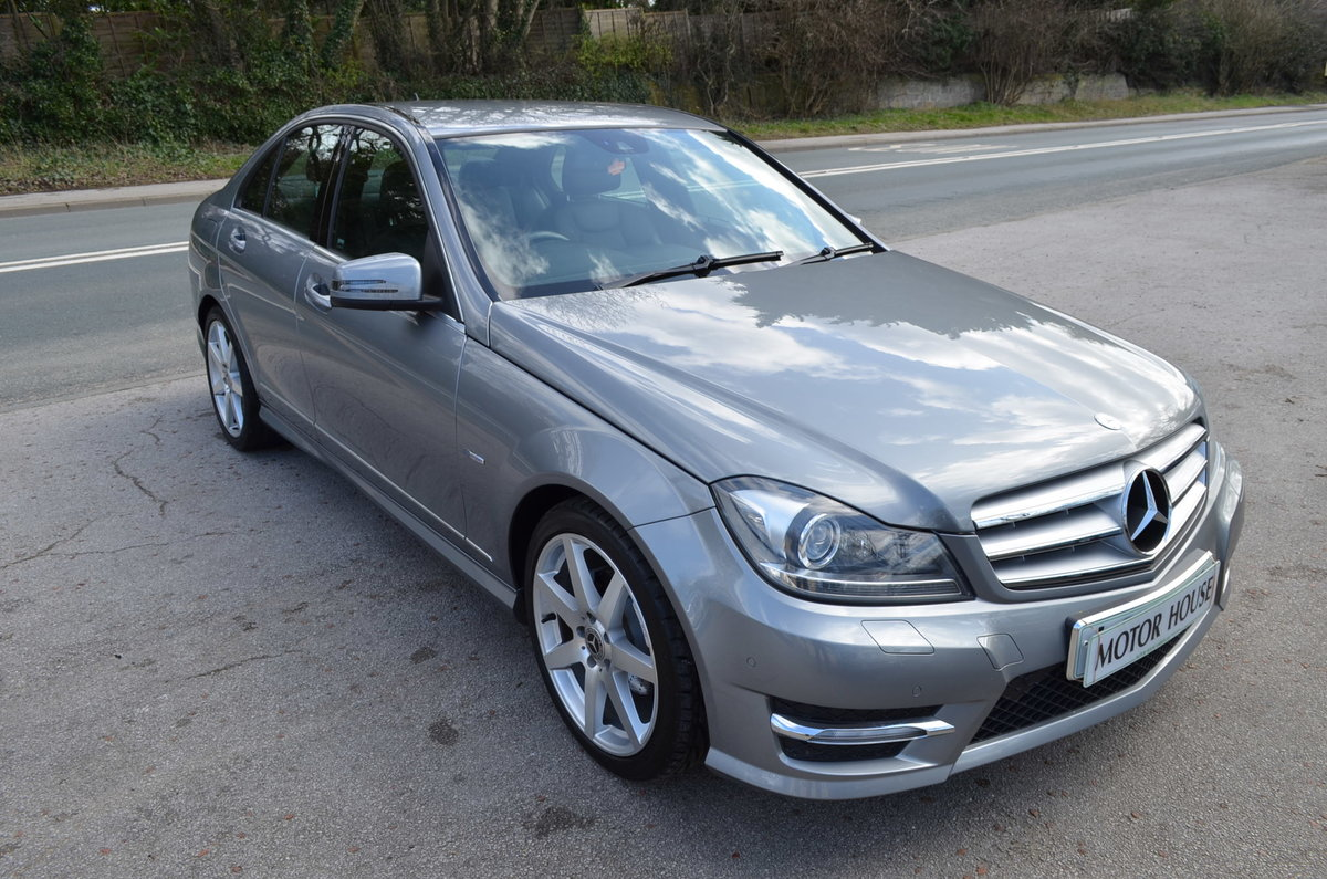 2012 MERCEDES C250 CDI AMG SPORT BLUE EFFICIENCY For Sale (picture 2 of 6)