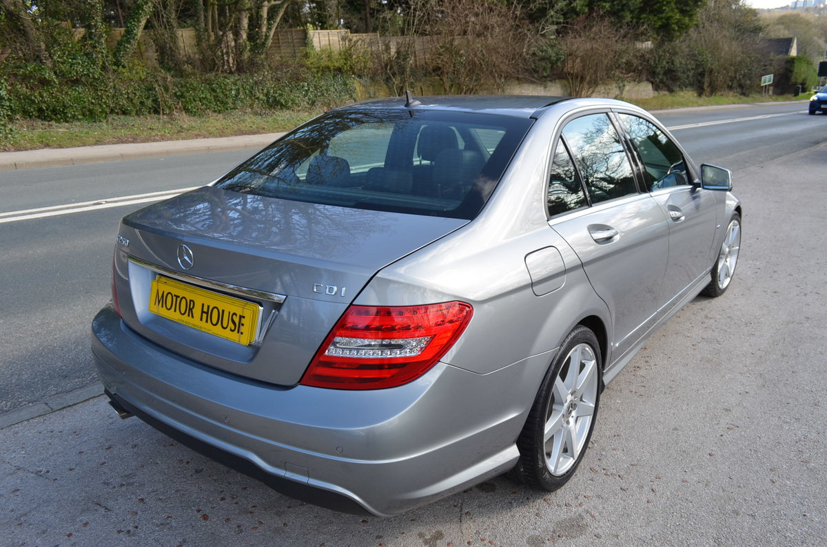 2012 MERCEDES C250 CDI AMG SPORT BLUE EFFICIENCY For Sale (picture 3 of 6)