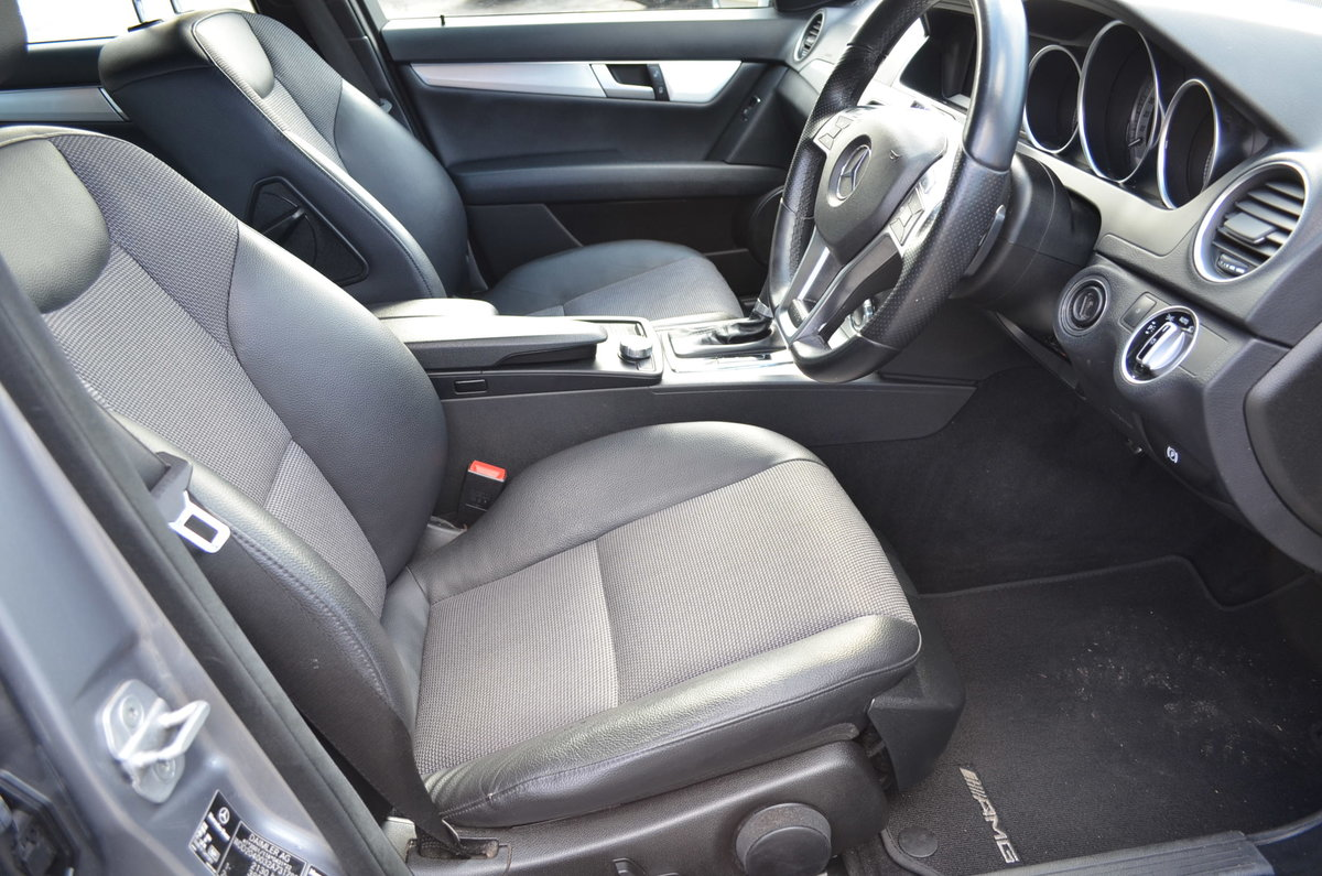 2012 MERCEDES C250 CDI AMG SPORT BLUE EFFICIENCY For Sale (picture 5 of 6)