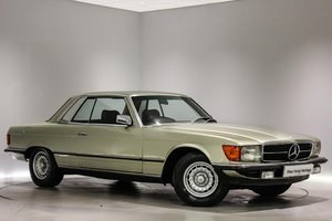 Mercedes 380SLC Automatic - 17,138 Miles Only