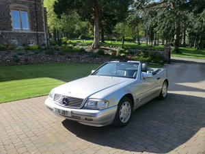 1996 Mercedes 280 SL July  44,500 miles