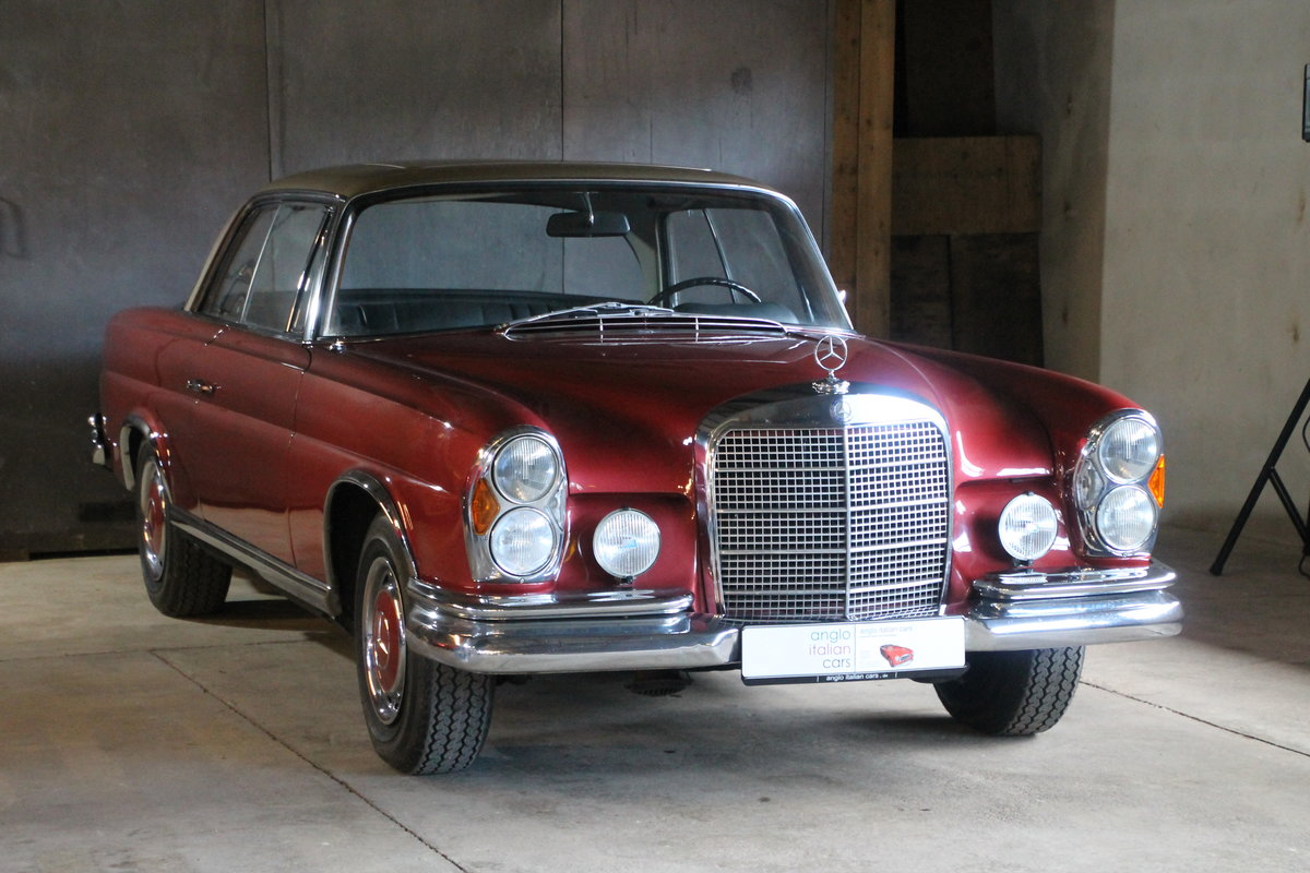 1969 Mercedes Benz 280 SE Coupe W111 / 1 owner from new  For Sale (picture 1 of 6)