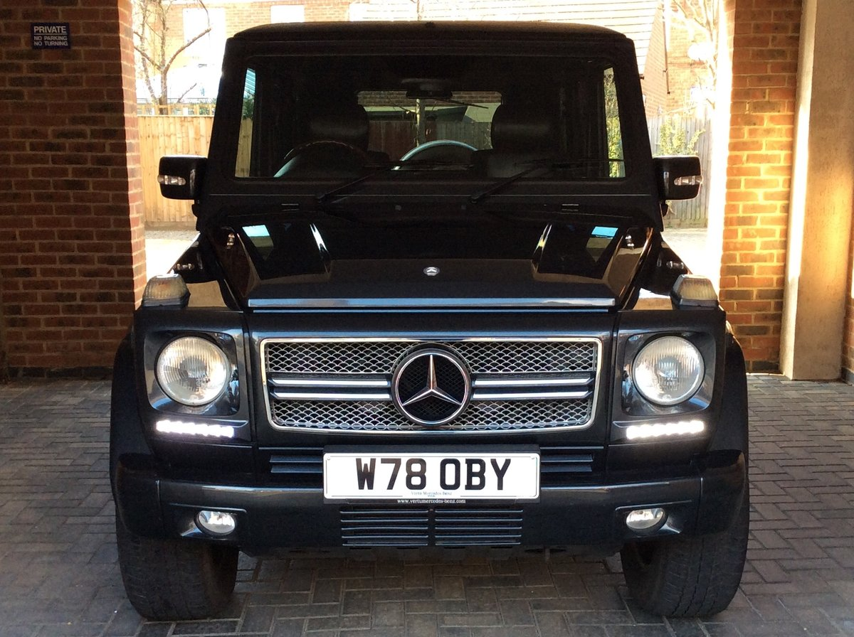 2001 Mercedes-Benz G500 LWB. Outstanding Examples Wanted For Sale (picture 5 of 6)