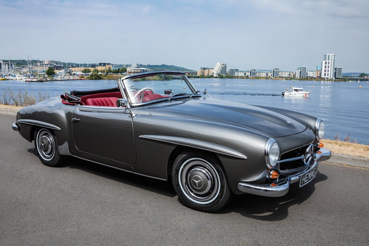 1961 Mercedes-Benz 190 SL Roadster in Anthracite Grey by Hemmels For Sale (picture 2 of 6)