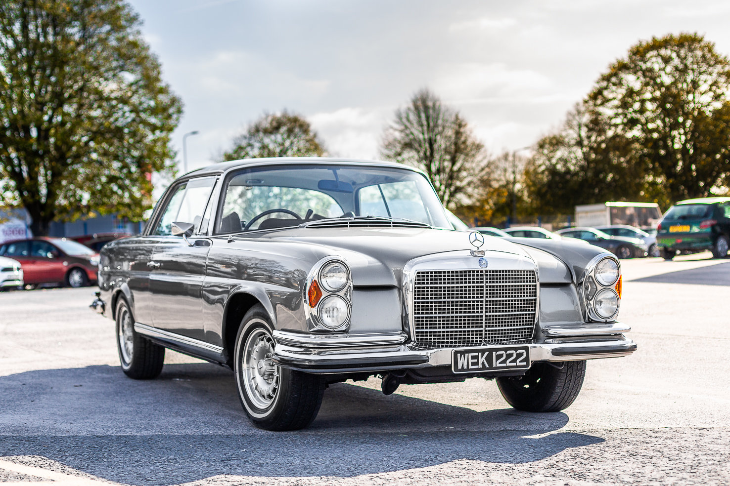 1970 Mercedes-Benz 280 SE W111 in Silver by Hemmels For Sale (picture 1 of 6)