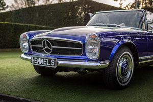 1968 Mercedes-Benz 280 SL Pagoda in Cardiff Blue by Hemmels	 For Sale