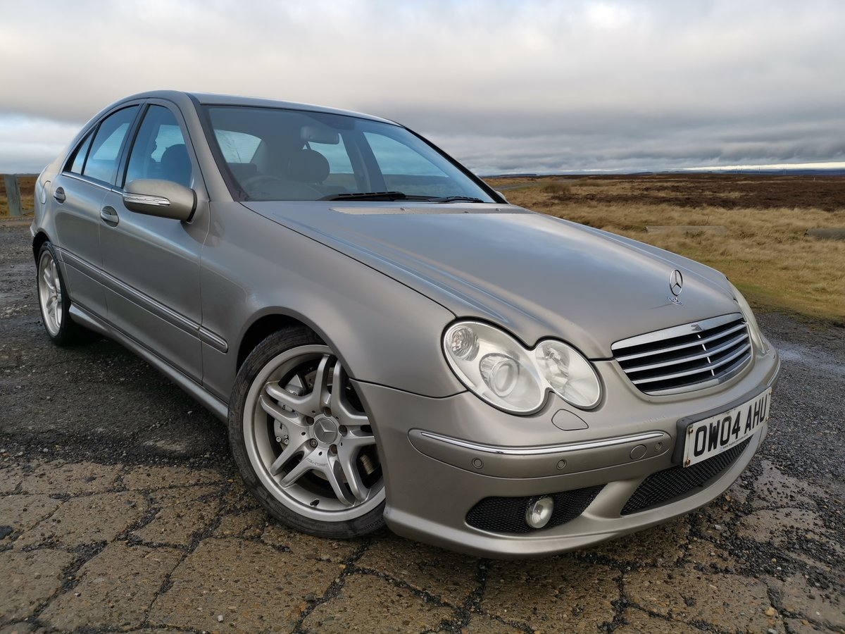 2004 Brilliant investment mercedes c55 amg For Sale (picture 1 of 6)