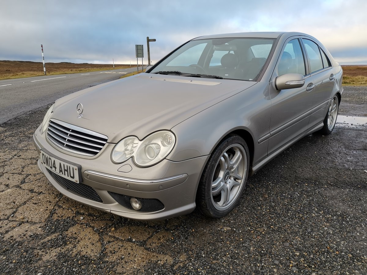 2004 Brilliant investment mercedes c55 amg For Sale (picture 2 of 6)