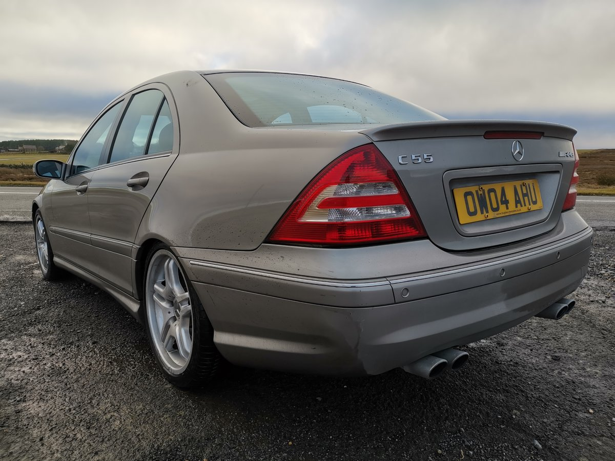 2004 Brilliant investment mercedes c55 amg For Sale (picture 3 of 6)