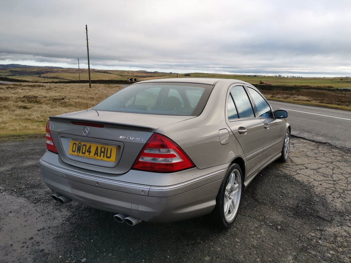 2004 Brilliant investment mercedes c55 amg For Sale (picture 4 of 6)