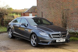 Picture of 2012 Mercedes-Benz CLS63AMG Auto. Factory special order. For Sale
