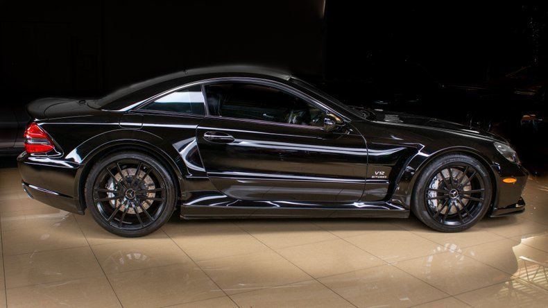 2009 Mercedes SL 65 AMG Black Series Rare 1 of 175  $199.9k For Sale (picture 3 of 6)