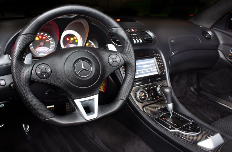 2009 Mercedes SL 65 AMG Black Series Rare 1 of 175  $199.9k For Sale (picture 5 of 6)