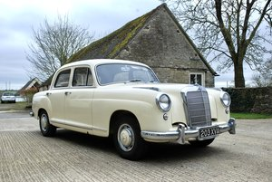 1956 Mercedes 219 saloon