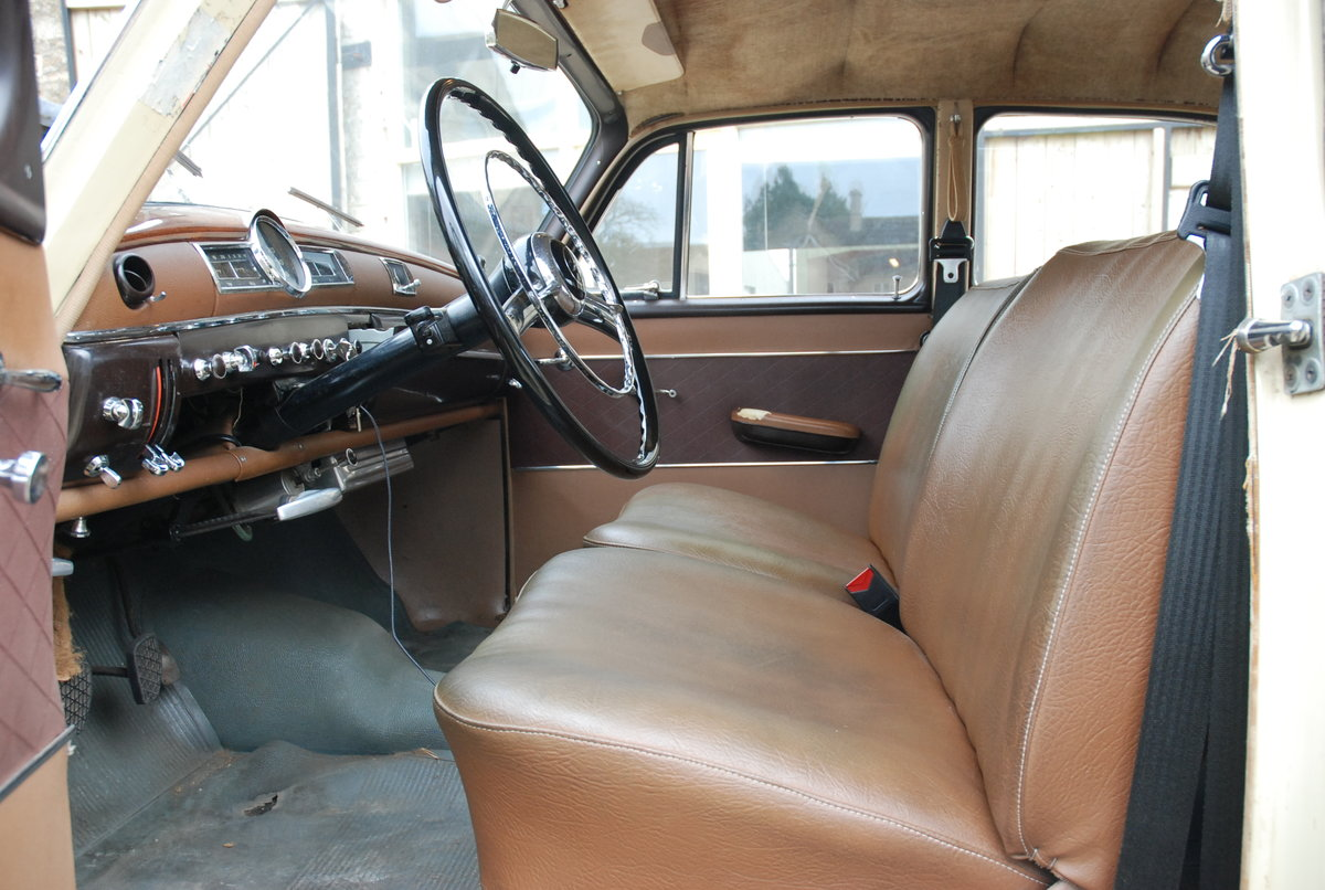 1956 Mercedes 219 saloon  For Sale (picture 6 of 6)