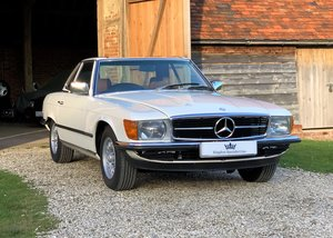 1981 Mercedes R107 500SL Full documented restoration