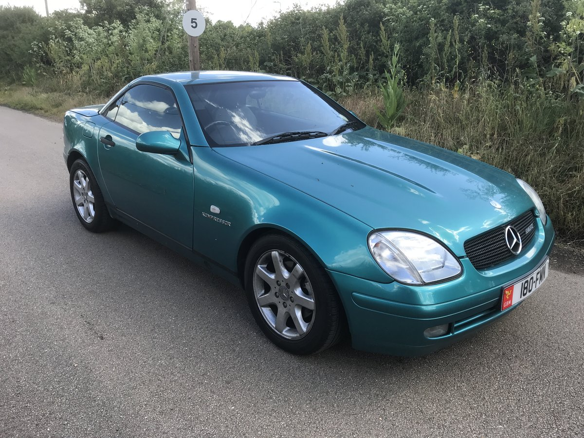 1999 SLK 230 Sports Convertable  For Sale (picture 2 of 6)