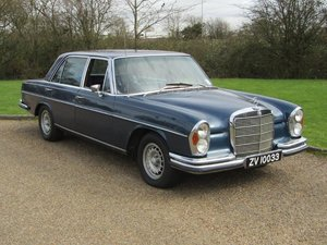1972 Mercedes W109 300SEL 6.3 RHD at ACA 4th April For Sale