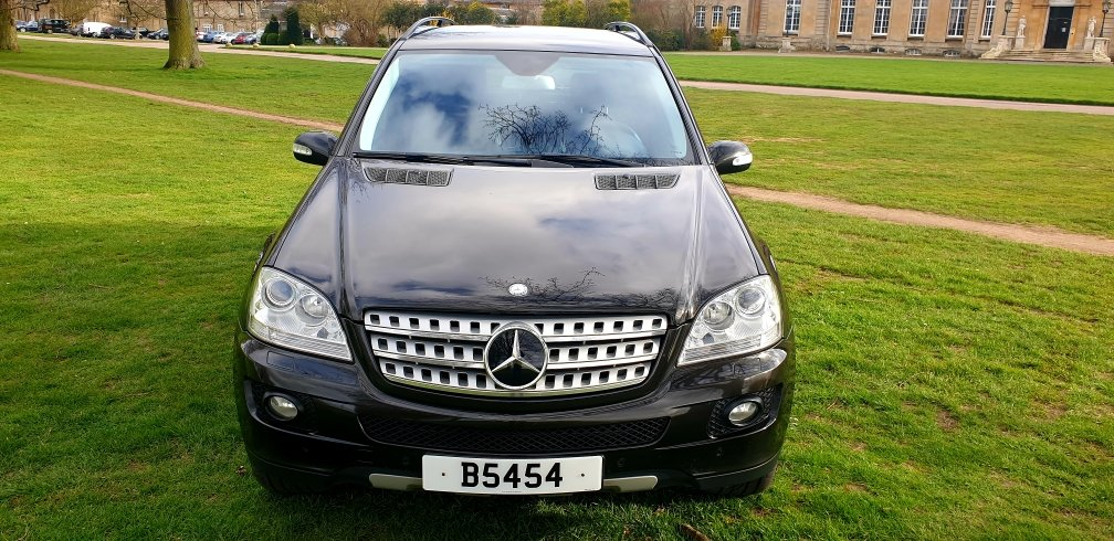 LHD 2008 MERCEDES ML280 CDI AMG SPORT, LEFT HAND DRIVE For Sale (picture 2 of 6)