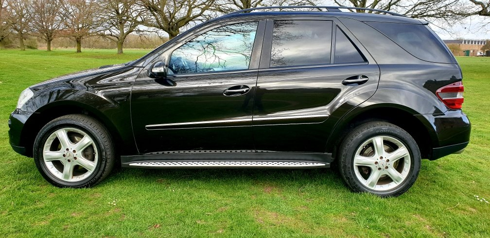LHD 2008 MERCEDES ML280 CDI AMG SPORT, LEFT HAND DRIVE For Sale (picture 3 of 6)