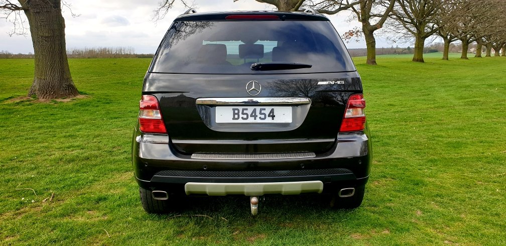 LHD 2008 MERCEDES ML280 CDI AMG SPORT, LEFT HAND DRIVE For Sale (picture 4 of 6)