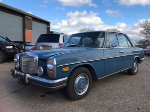 1973 Mercedes 280 W114 Auto for Auction Friday 17th July For Sale by Auction