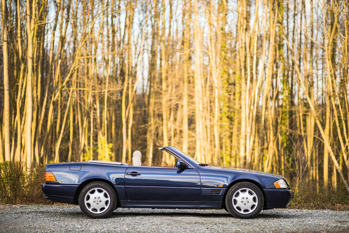 1995 V8 500SL SL500, only 2 f/owners, UK car For Sale (picture 1 of 6)