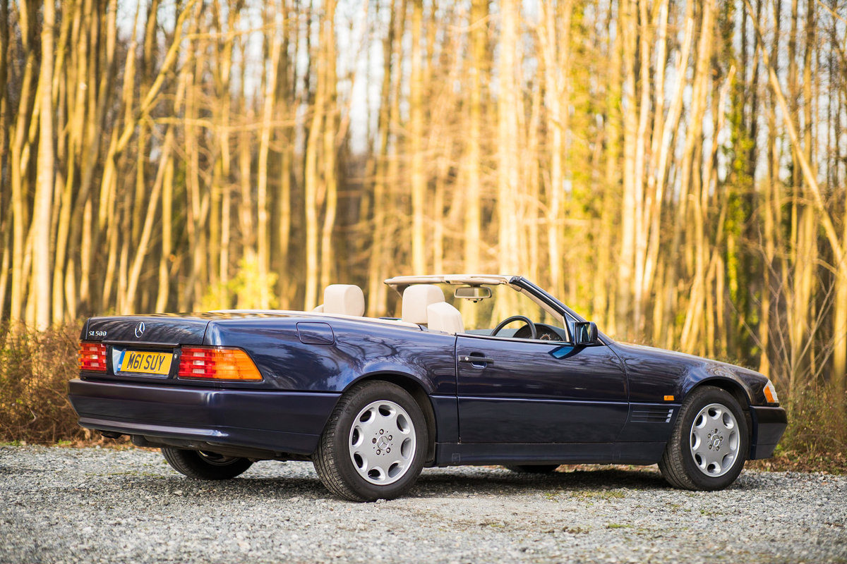 1995 V8 500SL SL500, only 2 f/owners, UK car For Sale (picture 2 of 6)