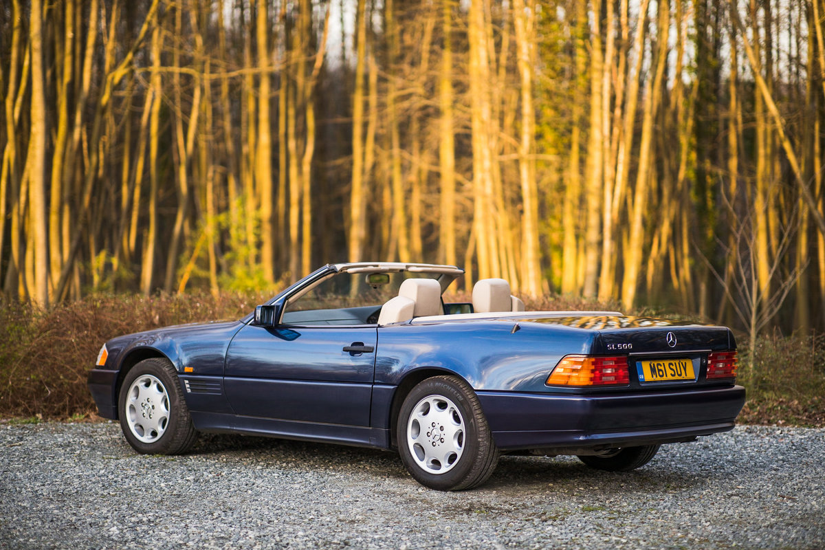 1995 V8 500SL SL500, only 2 f/owners, UK car For Sale (picture 3 of 6)