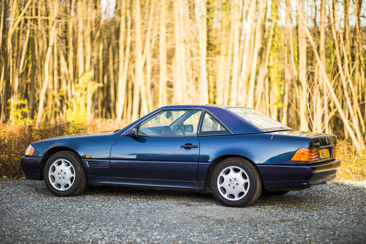 1995 V8 500SL SL500, only 2 f/owners, UK car For Sale (picture 5 of 6)