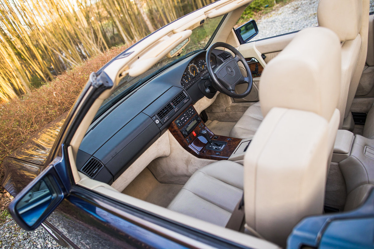 1995 V8 500SL SL500, only 2 f/owners, UK car For Sale (picture 6 of 6)