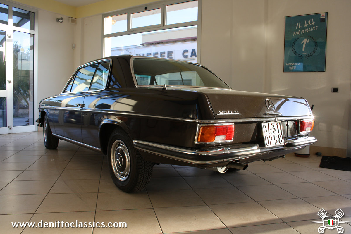 1971 Mercedes Benz - 250 C - Brown For Sale (picture 3 of 10)