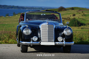 1954 Mercedes 300 Adenauer Convertible W186 For Sale