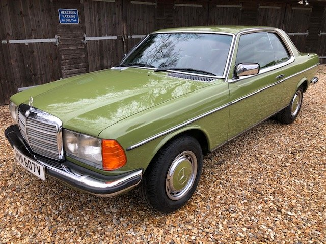 1980 Mercedes 280 CE ( 123-series ) For Sale (picture 1 of 6)