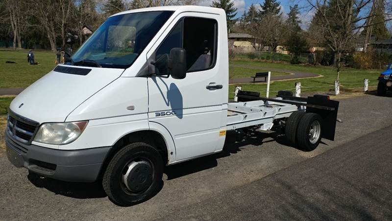 2004 Dodge Sprinter Cab Chassis 3500 only 12k miles $17.9k For Sale (picture 1 of 6)