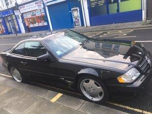 1997 Mercedes sl600 v12 r129 lhd black/pano