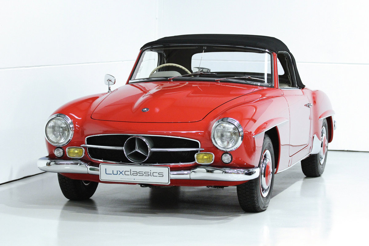 1960 MERCEDES BENZ 190SL 190 SL RHD CONCOURS WINNER For Sale (picture 1 of 6)