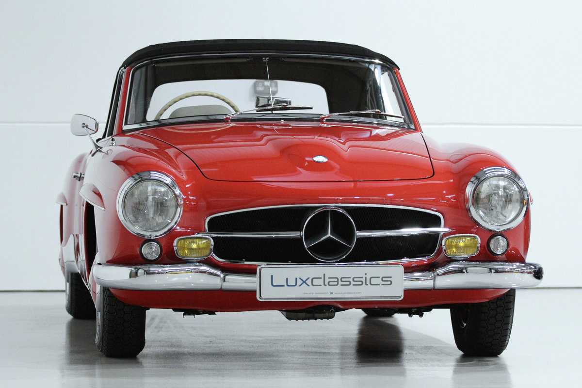 1960 MERCEDES BENZ 190SL 190 SL RHD CONCOURS WINNER For Sale (picture 2 of 6)
