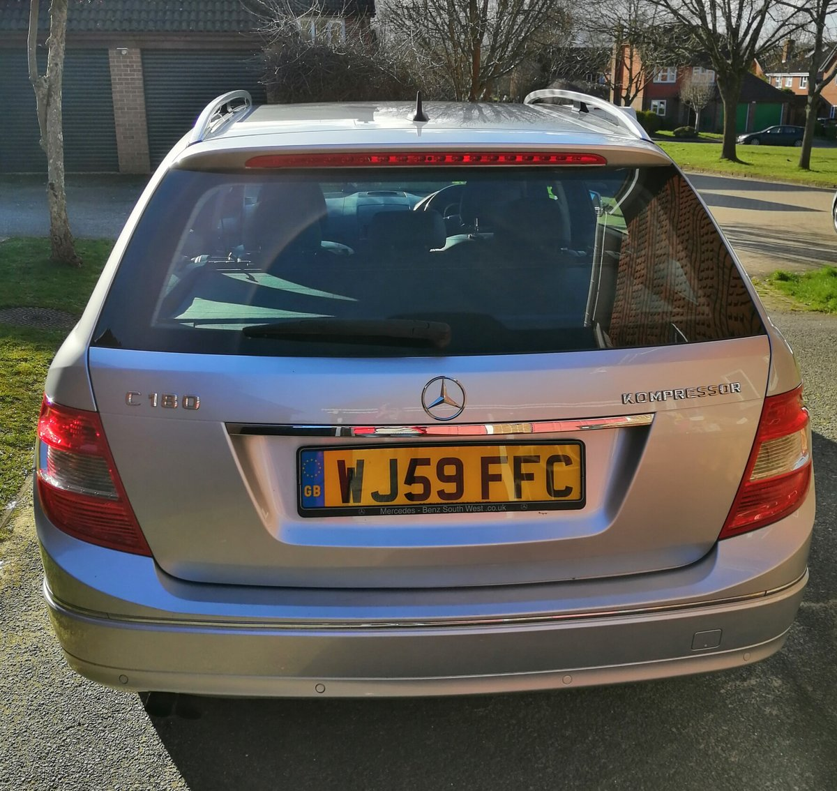 2009 Mercedes-Benz C180 Elegance For Sale (picture 2 of 3)