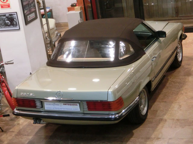 MERCEDES BENZ 280 SL ROADSTER R107 - 1982 For Sale (picture 6 of 6)