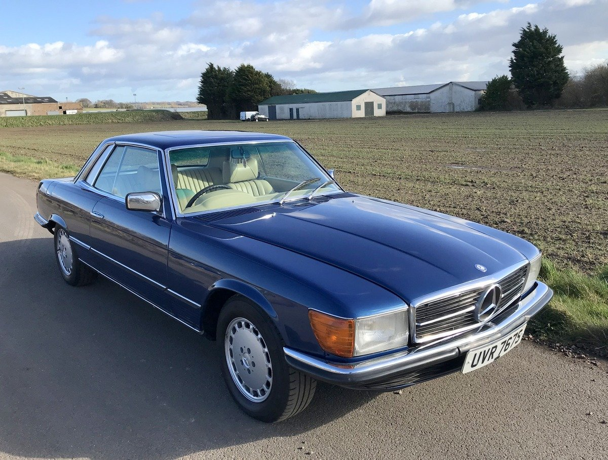 1977 Mercedes Benz 450 SLC coupe automatic For Sale (picture 1 of 5)