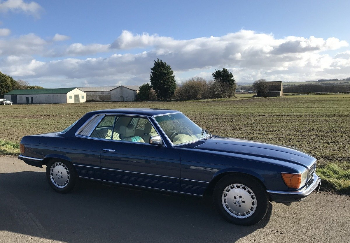 1977 Mercedes Benz 450 SLC coupe automatic For Sale (picture 2 of 5)