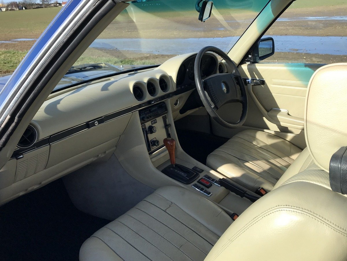 1977 Mercedes Benz 450 SLC coupe automatic For Sale (picture 3 of 5)