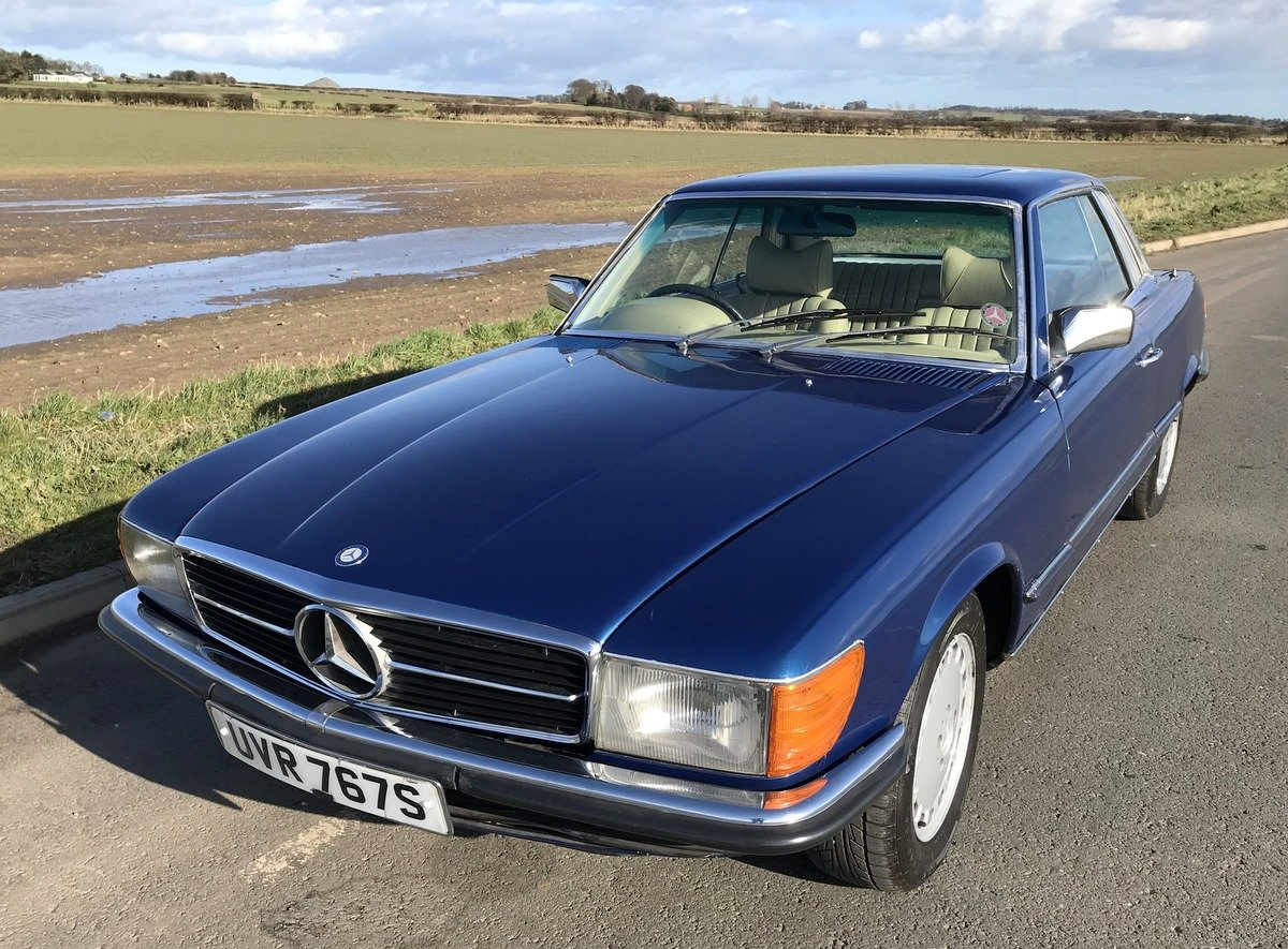 1977 Mercedes Benz 450 SLC coupe automatic For Sale (picture 5 of 5)