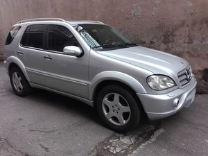 2001 MERCEDES ML 55 AMG SERVICE BOOK ONLY 7900 EURO For Sale