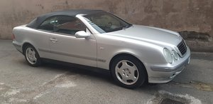 1999 MERCEDES CLK 320 CABRIOLET ELEGANCE SERVICE BOOK 4500 EURO For Sale