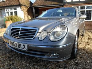2003 Mercedes-Benz E Class SOLD