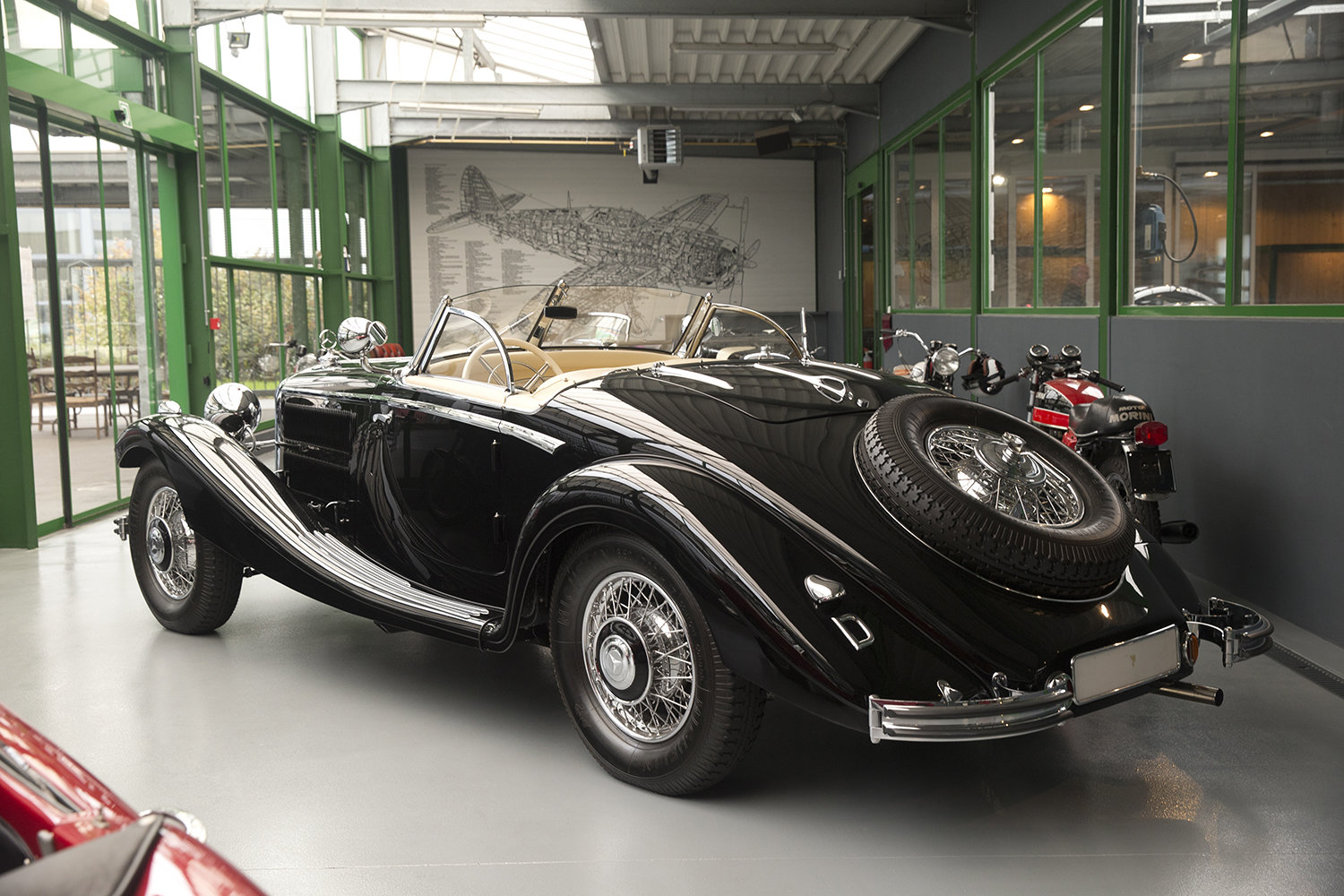 1935 Mercedes 290B Spezial Roadster For Sale (picture 3 of 6)