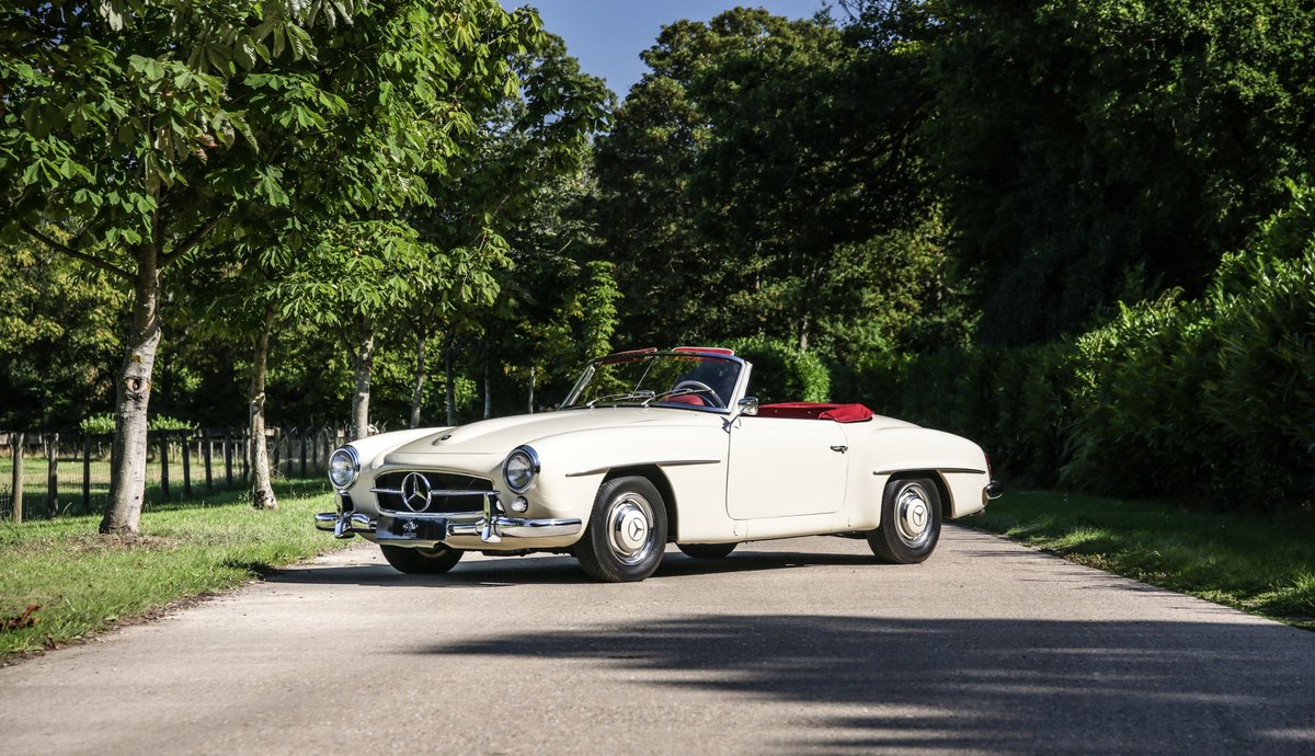 1956 Mercedes 190 SL Roadster For Sale (picture 1 of 17)